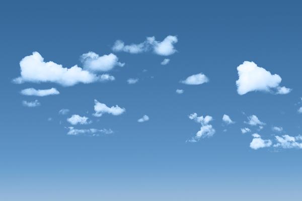 Clear Blue gradient