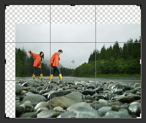 Cropping in CS6