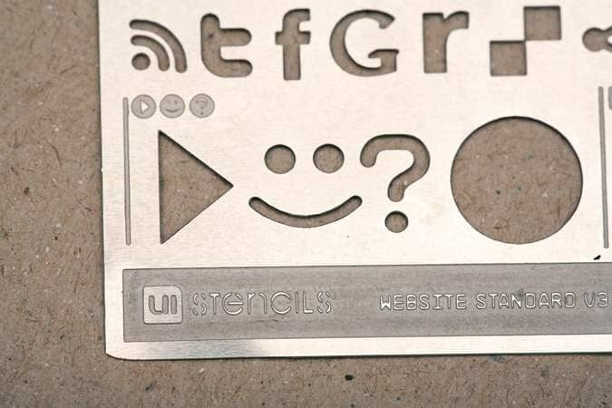 UI Stencil Imprint