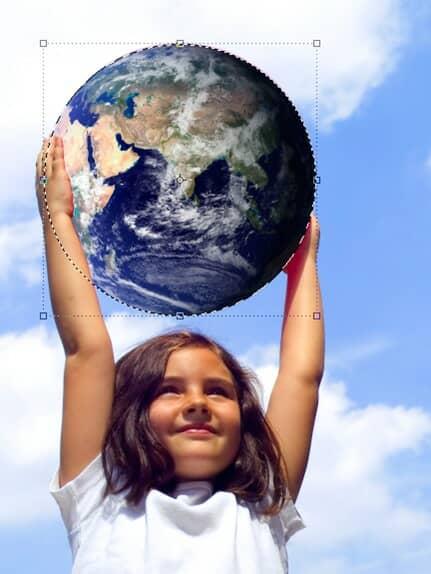 Resizing planet