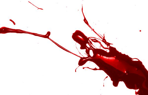 Splattered Blood