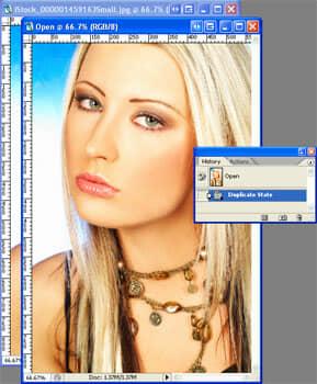Duplicated Image