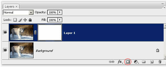 Duplicated layer with mask