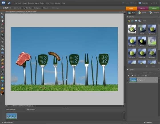 Photoshop Elements 6.0 Interface