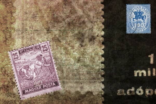 Realistic looking stamps
