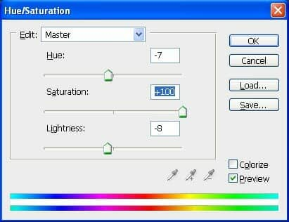 37 modifying with hue and sat