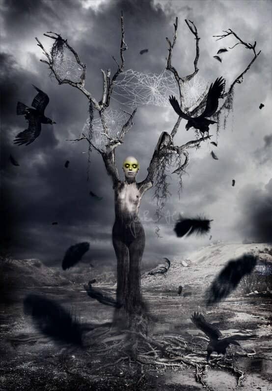 Terrifying Horror Photo Manipulation