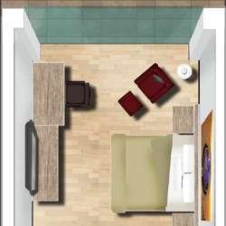 Design a 3D Floor Plan with Photoshop