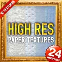 10 High Res Paper Textures