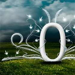 Elegant Typography on Vista Background