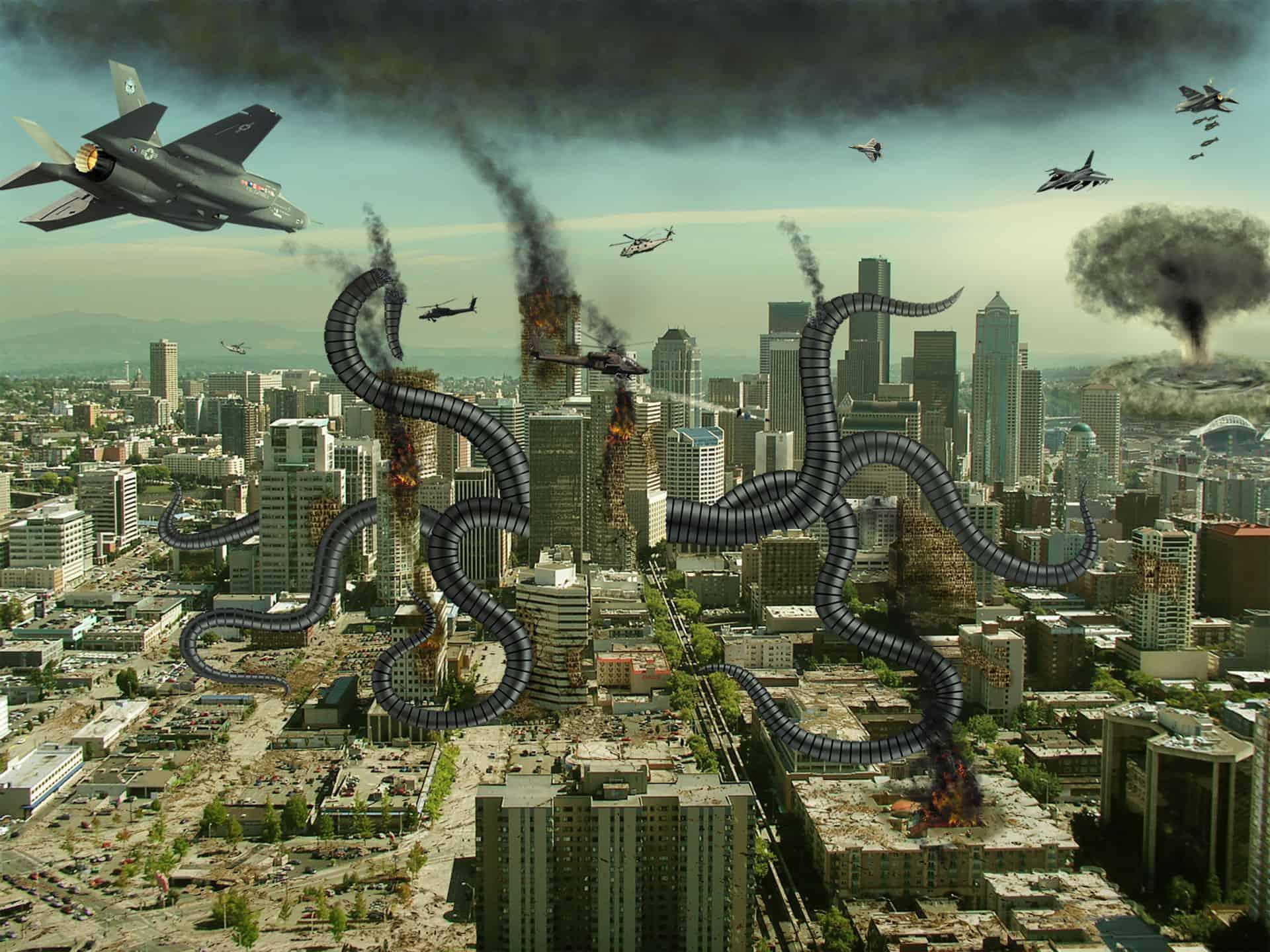 Create an Alien Invasion Photo Manipulation in Photoshop