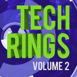 Tech Rings Photoshop Brushes - Volume 2
