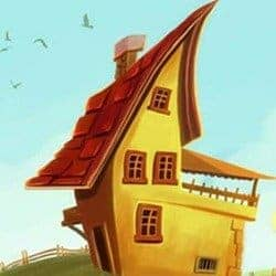 """Painting """"The Imaginary House"""" in Adobe Photoshop"""