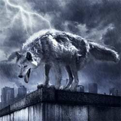 How to Create a Photo Manipulation of a Wolf in Stormy Weather