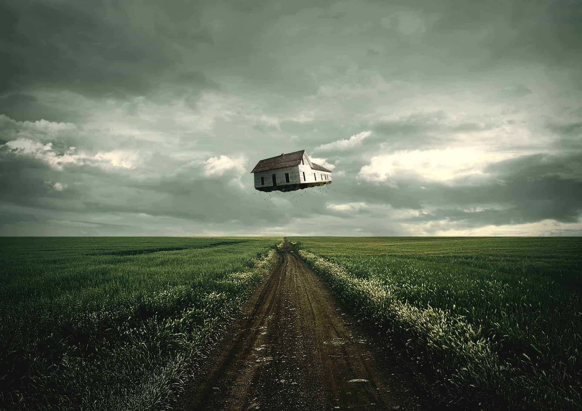 How to Create a Surreal Traveling House Photo Manipulation in Photoshop