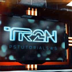 Photoshop Video Tutorial: Tron-Inspired 3D Text