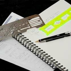 UI Stencils Review – Laser-Cut Stencils for Prototyping Websites on Paper