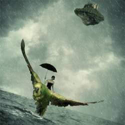 How to Create a Stormy Fantasy Scene in Photoshop