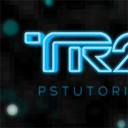 How to Create Glowing TRON-Inspired 3D Text in Photoshop Extended
