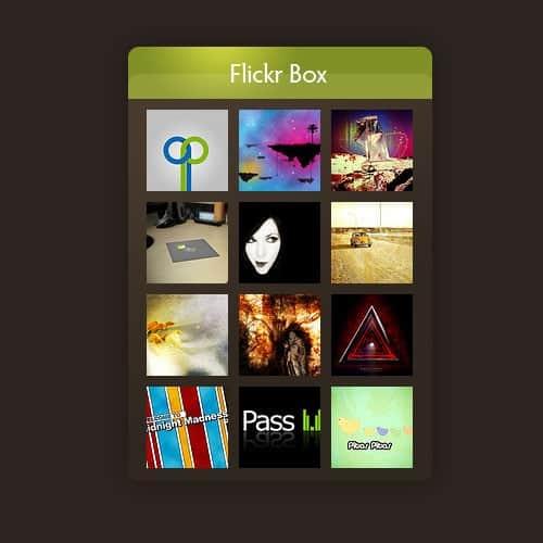 Flickr Box