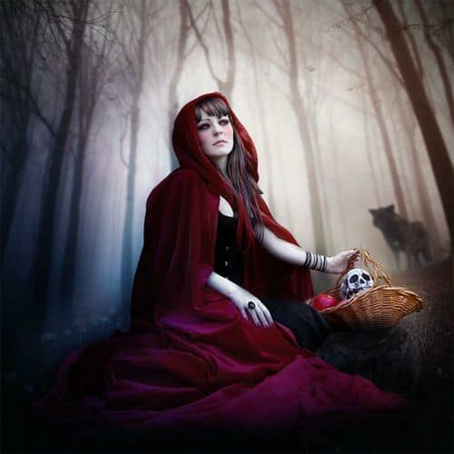 How to Create a Red Riding Hood Artwork in Photoshop