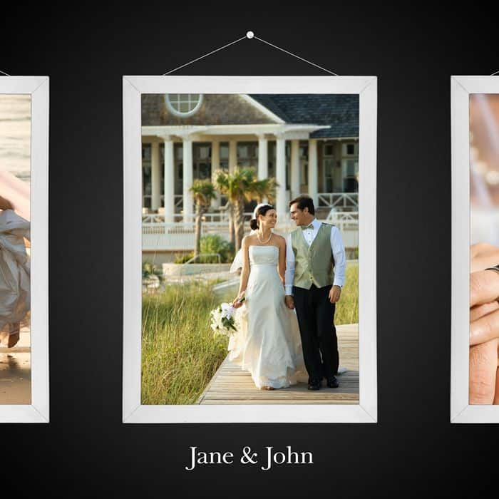 Create a Skeuomorphic Wedding CD Cover Using Only Nondestructive Layers