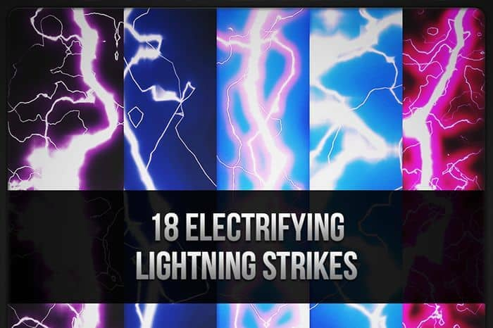 Freebie: 18 Electrifying Lightning Strikes