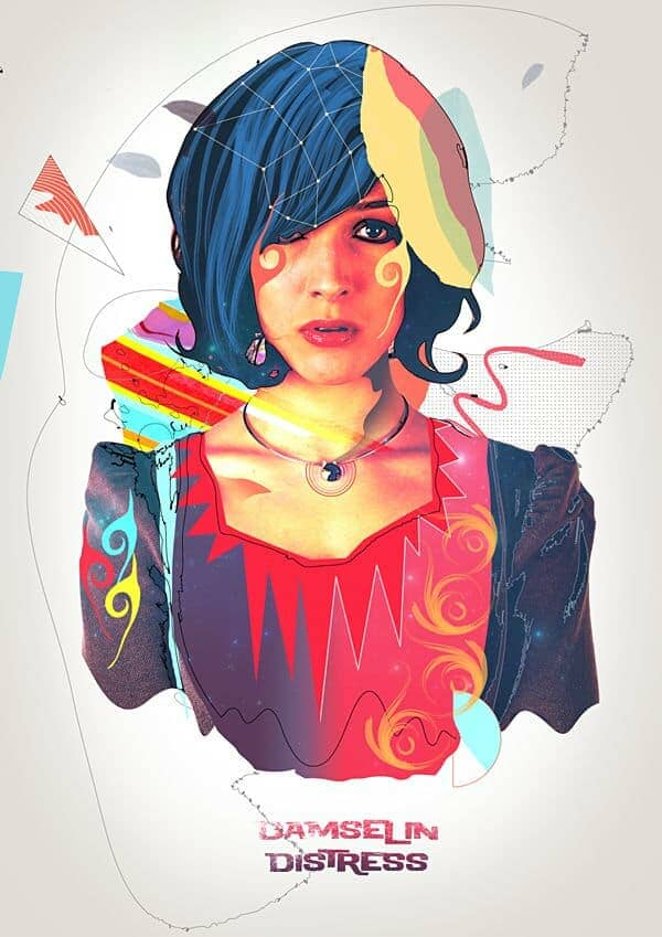 Create a Colorful Retro Poster in Photoshop and Illustrator