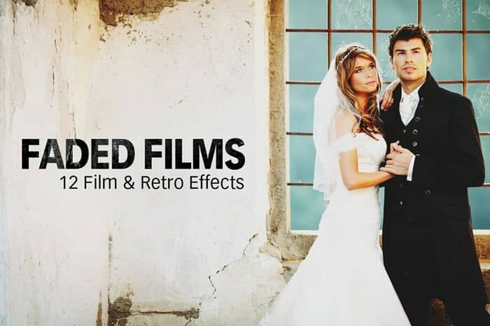 Freebie: 12 Film, Instagram, and Prestalgia Faded Film Photoshop Actions
