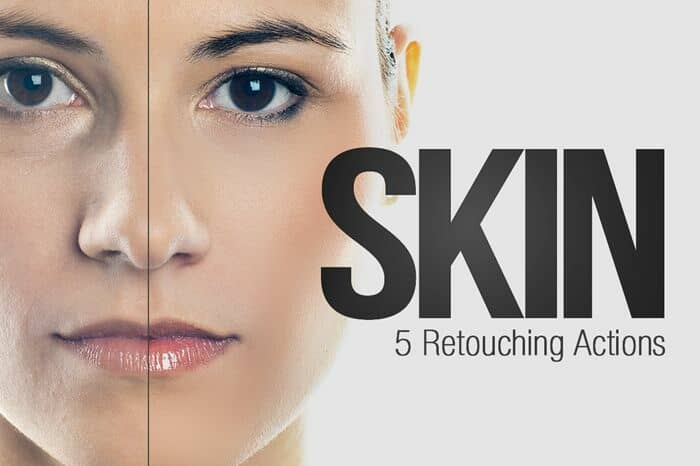 Freebie: 5 Skin Retouching Photoshop Actions