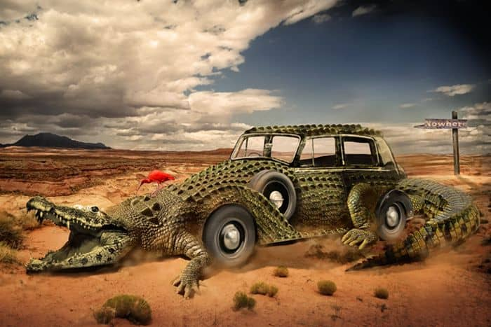 Combine a Crocodile with a Car to Create an Exotic Crocomobile