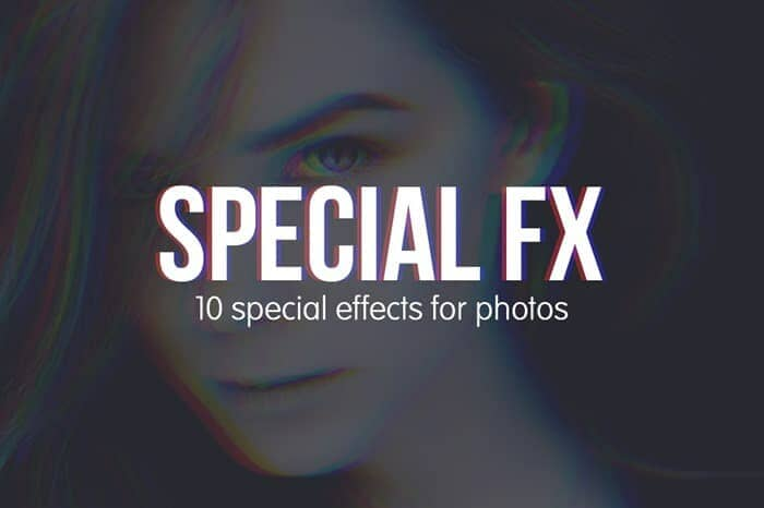 Freebie: 8 Special Effects for Photos