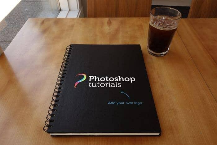Freebie: 4 Sketchbook Mockup PSDs