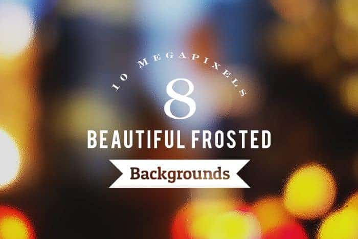 Freebie: 8 Beautiful & High-res Frosted Backgrounds