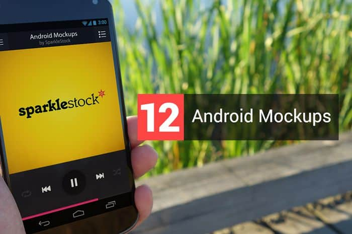 Free Download: 3 Realistic Android Mockups