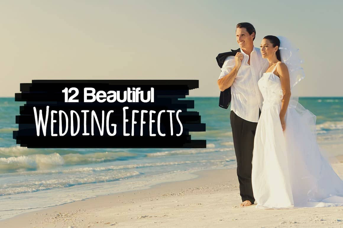 Free Download: 5 Effects for Wedding Photographers