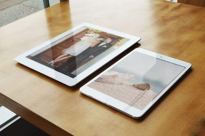 iPad Retina and iPad Mini Before