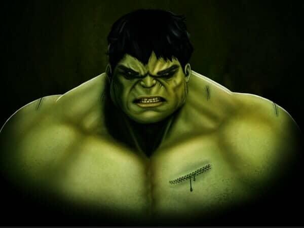 Create an Amazing CG Illustration of The Incredible Hulk