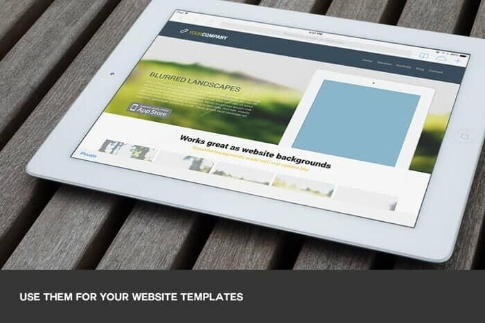 Website background example