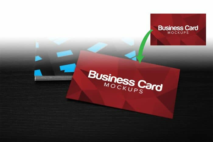 Free Download: 3 Business Card PSD Mockups
