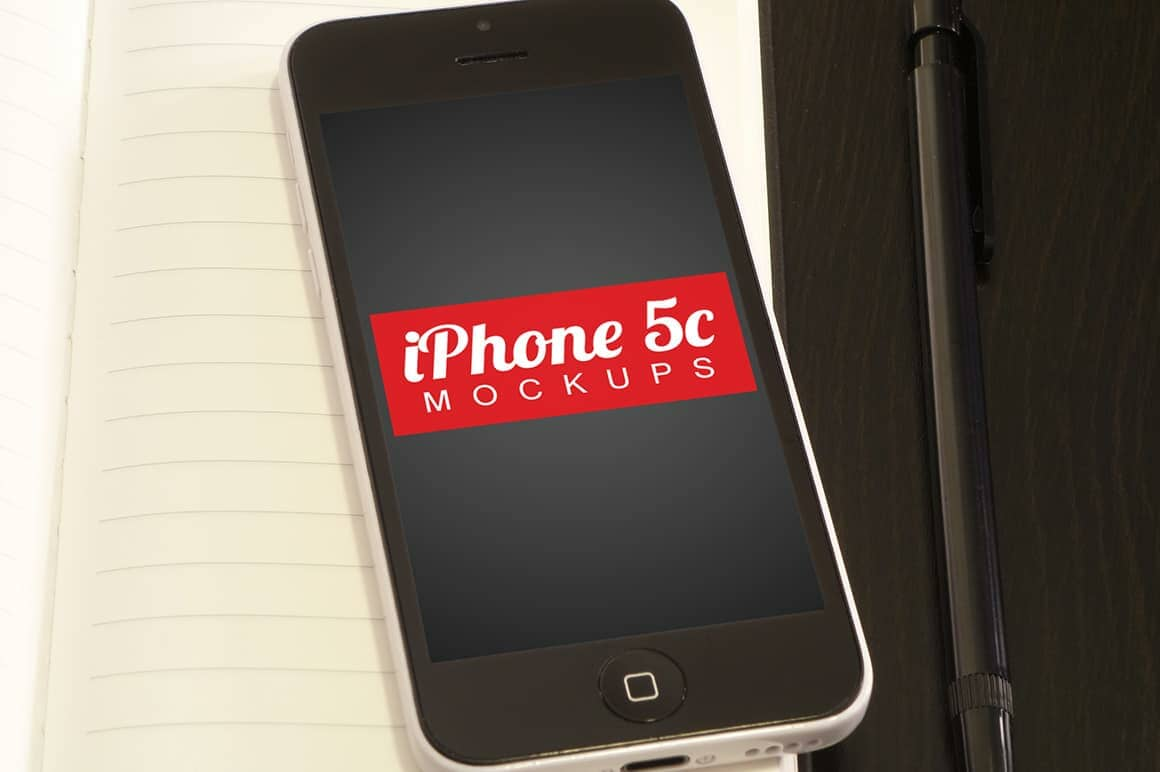Free Download: Four iPhone 5c PSD Mockups