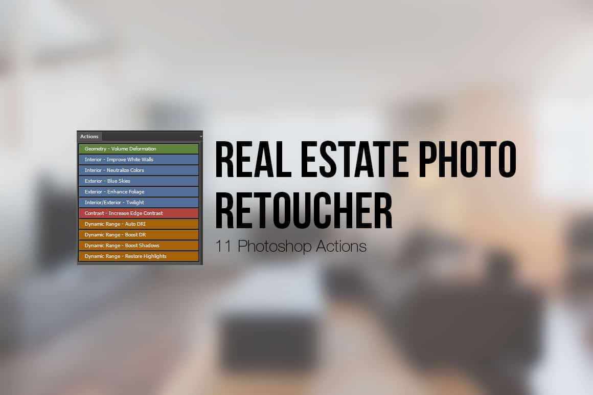 Free Download: Photoshop Actions for Real Estate Photographers