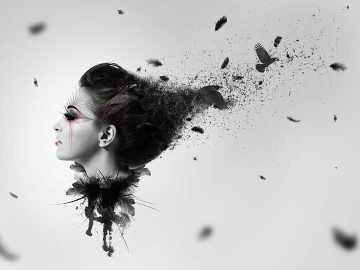 Create A Dark Abstract Crow Photo Manipulation