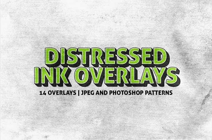 Free Download: 5 Distressed Paint Overlays for Your Graphics
