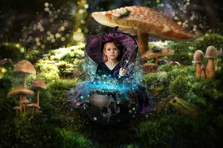 Turn Baby Photo into a Fairy Tale