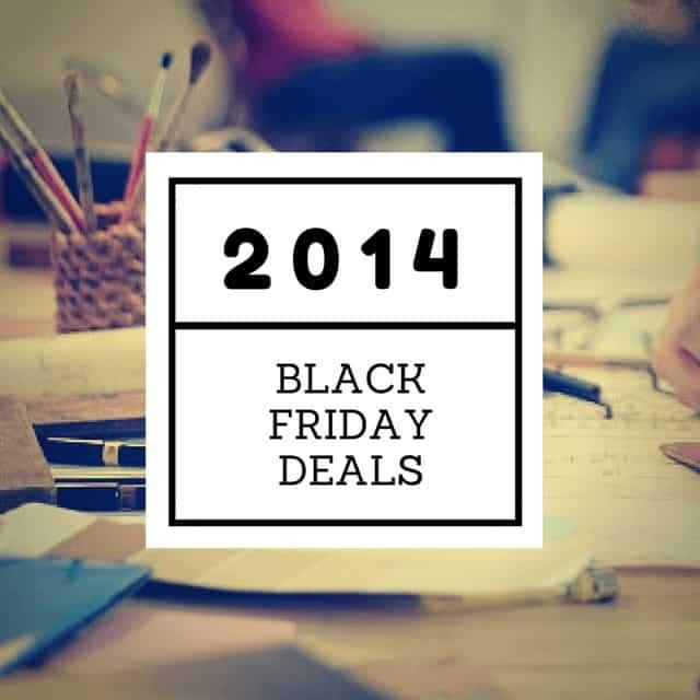 2014 Black Friday Design Deals
