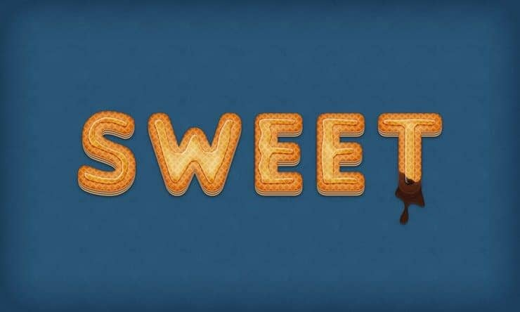 Turn Regular Text into Delicious Wafer Typography