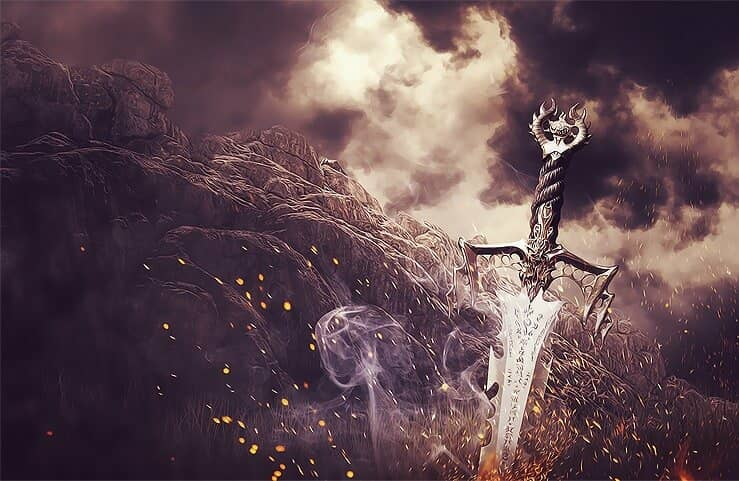 Create This Surreal and Medieval Style of a Battlefield in Photoshop
