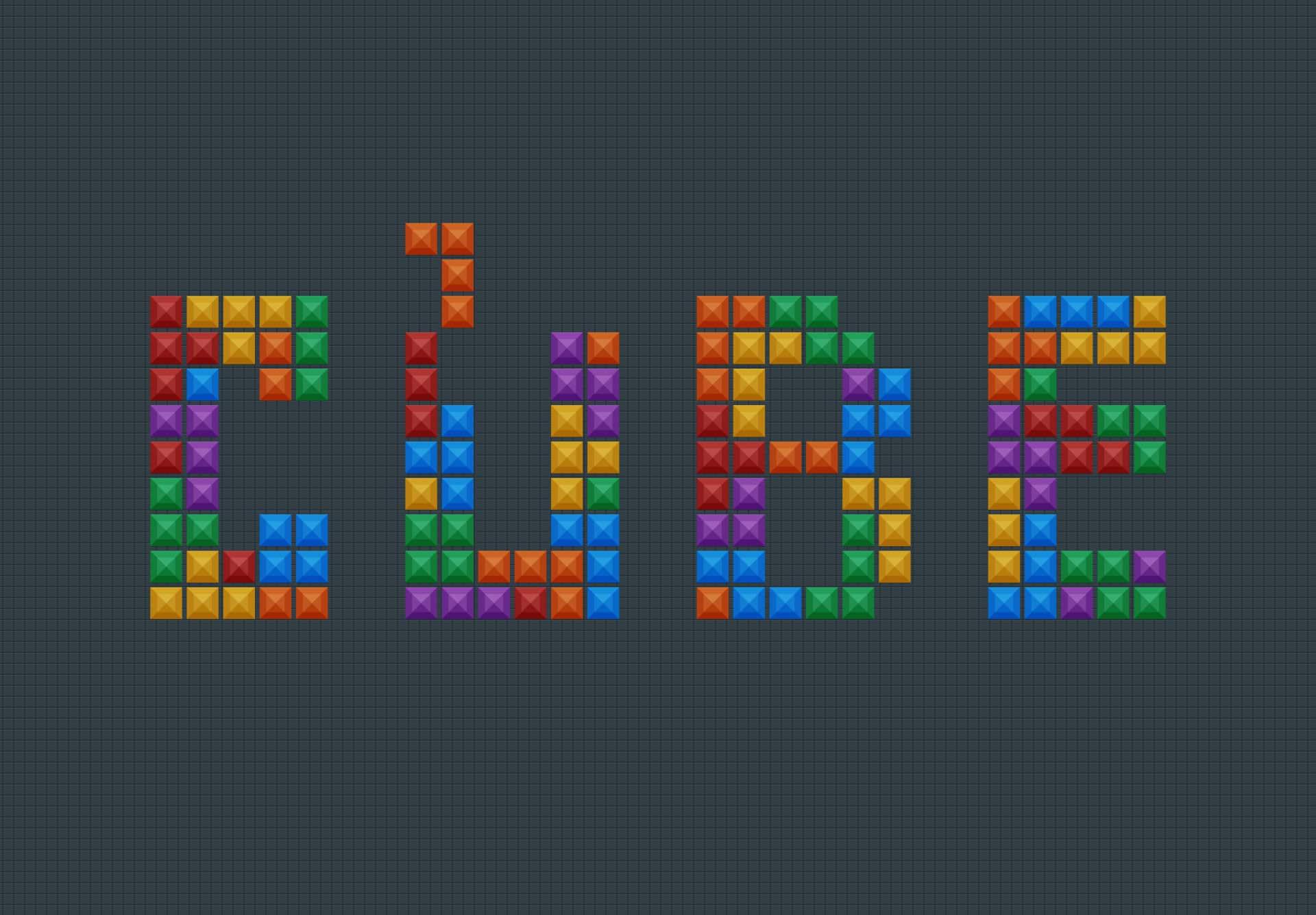 Create a Tetris Tile Text Effect in Photoshop