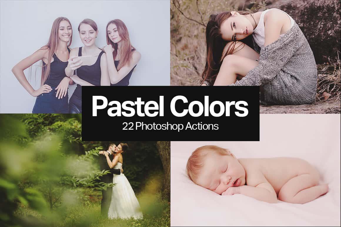 Freebie: 5 Pastel Color Photoshop Actions